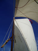faering sails and sky
